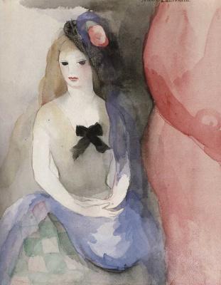 Мари Лорансен. Юная девушка