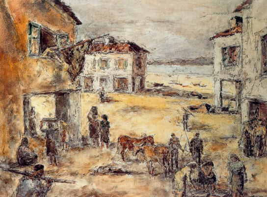 Arturo Souto. People and buildings