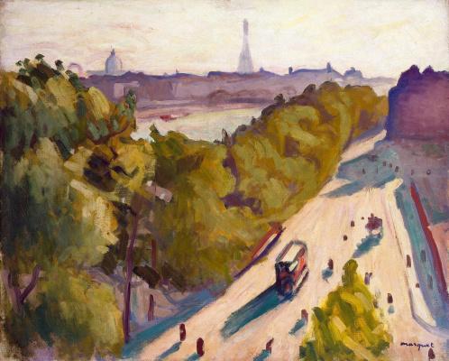 Albert Marquet. Promenade