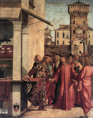 Vittore Carpaccio. The Calling Of Saint Matthew