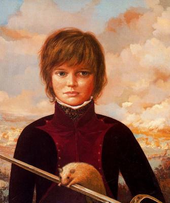 Гинес Лиебана. Мальчик с хорьком