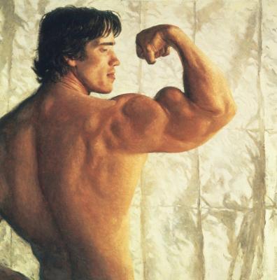 Jamie Wyeth. Arnold Schwarzenegger