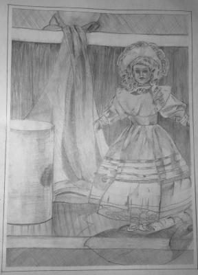 Николай Николаевич Оларь. Doll (Still Life)