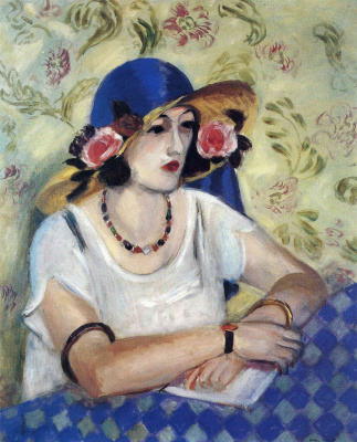 Henri Matisse. The Lady in the Blue Hat