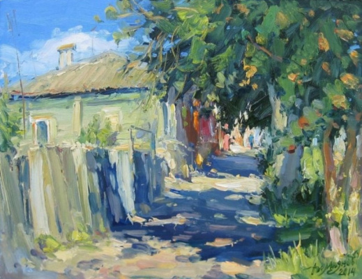 """Yuri Demyanov. """"In the shadow of the ash"""