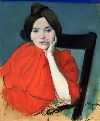Louis Anketen. Portrait of a woman