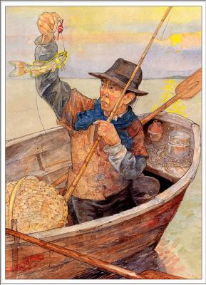 Джерри Пинкни. Рыбак и его улов