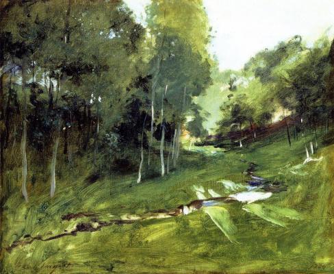 Джон Сингер Сарджент. Лесной пейзаж
