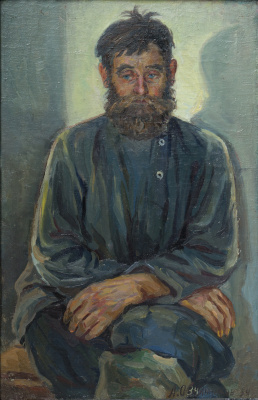 Александр Иванович Овчинников. Дед Тихон Аносов из Балейки.