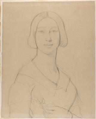 Jean Auguste Dominique Ingres. Madame Meurice