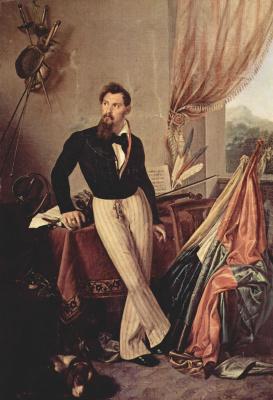 Франческо Айец. Портрет графа Бальони