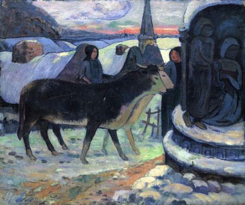 Paul Gauguin. Christmas