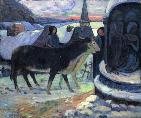 Paul Gauguin. Christmas