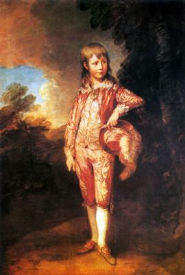 Томас Гейнсборо. Молодой Николе (Розовый мальчик)