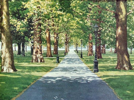 Энди Вуд. Парк