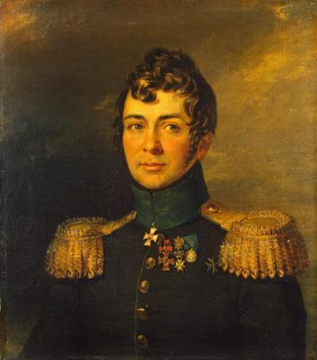 George Dow. Portrait of Sergei Nikolaevich Ushakov