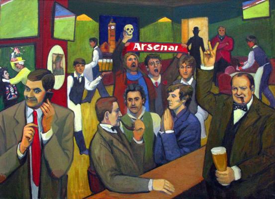 Анастасия Дашевская. Pub The British Pride