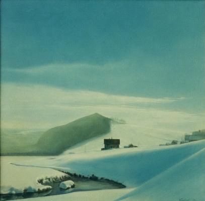 Василий Коркишко. Winter landscape