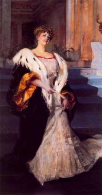 Joaquin Sorolla (Soroya). Portrait of Dona Elena Artusi Blasco ibáñez
