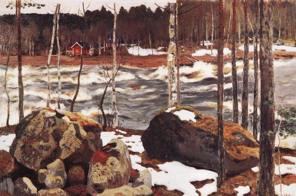 Аркадий Александрович Рылов. Гремящая река