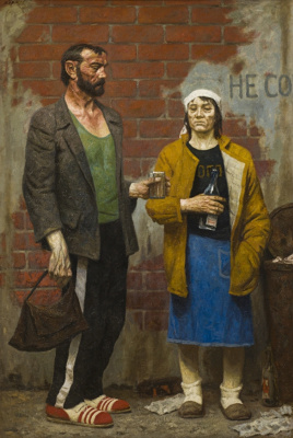 Гелий Михайлович Коржев. Adam A. and Eva p.