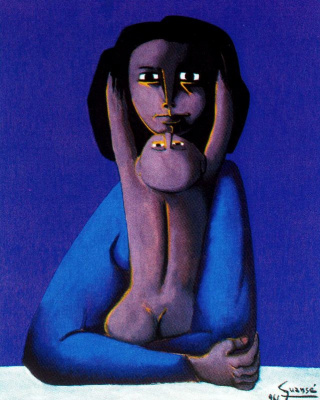 Антони Гуанс. Мать с ребенком