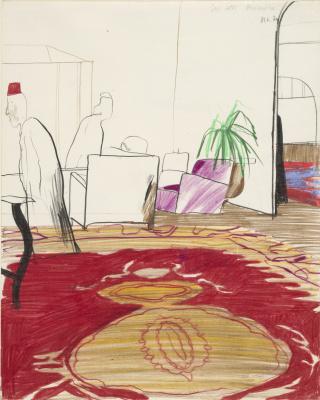 David Hockney. Cecil Hotel