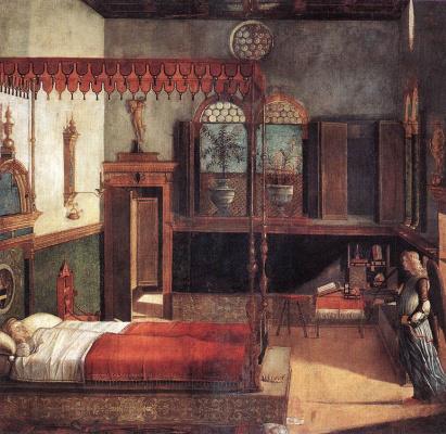Vittore Carpaccio. The Dream Of St. Ursula