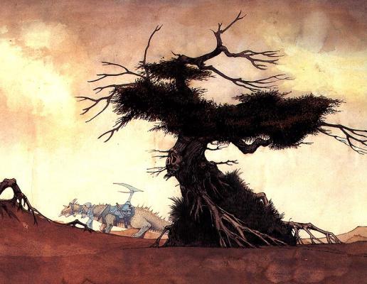 Roger Dean. The dragon tree