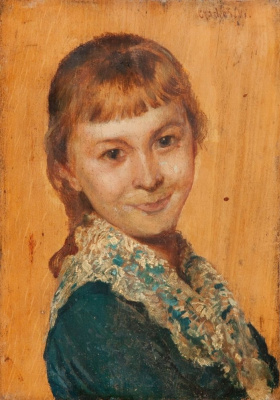 Владислав Чахурский. Портрет девушки