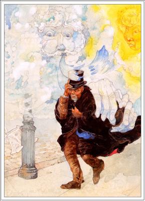 Джерри Пинкни. Северный ветер и солнце