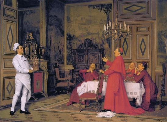 Хосе Фраппа. Деньрождение кардиналов