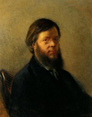 Николай Николаевич Ге. Портрет А. Н. Пыпина