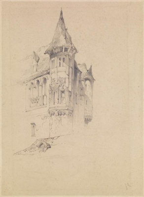 John Ruskin. Tower on the rock
