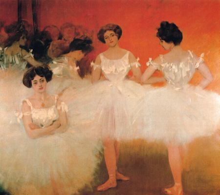 Ramon Casas i Carbó. Ballerinas
