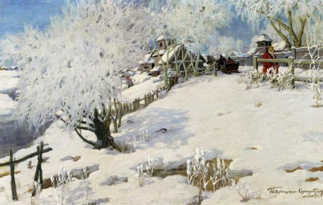 Ivan Goriushkin-Sorokopudov. The sun-summer, winter-frost