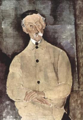 Амедео Модильяни. Портрет мсье Лепутра