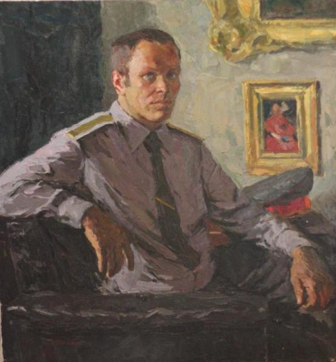 Anatoly Nikitovich Yanev. Portrait of Sergeant