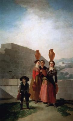 Франсиско Гойя. Девушки с кувшинами