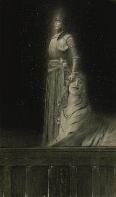 Fernand Knopf. Emil Verharn and Sphinx