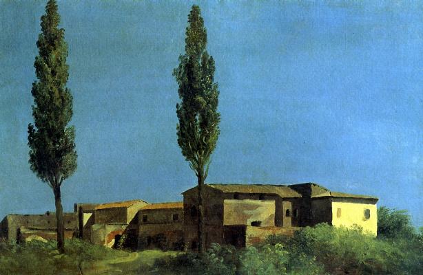 Pierre De Valenciennes. At the Villa Farnese