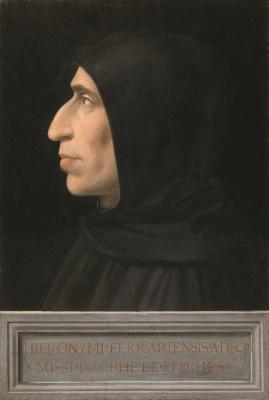 Фра Бартоломео. Portrait of Girolamo Savonarola