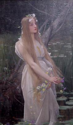 Jules Joseph Lefebvre. Ophelia