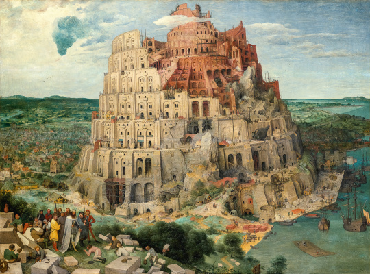 Pieter Bruegel The Elder. Tower of Babel
