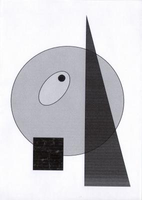 Polina. Tone composition of geometric shapes