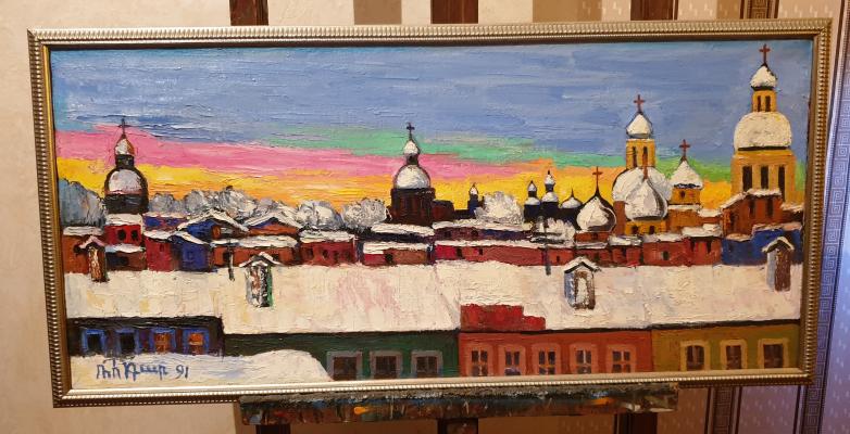 Robert Patwakanovich Gyulazyan. Petersburg rooftops