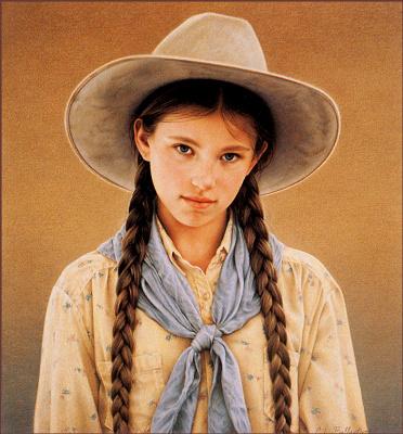Кэрри Баллантайн. Девушка в шляпе