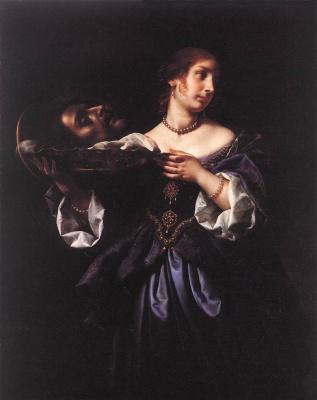 Carlo Dolci. Salome