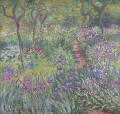 Claude Monet. The painter's garden in Giverny