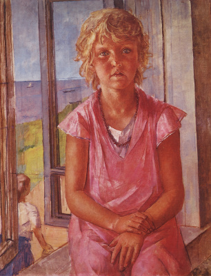 Kuzma Sergeevich Petrov-Vodkin. The daughter of a fisherman